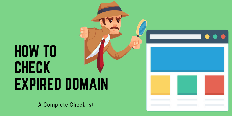 How to check expired domain FI